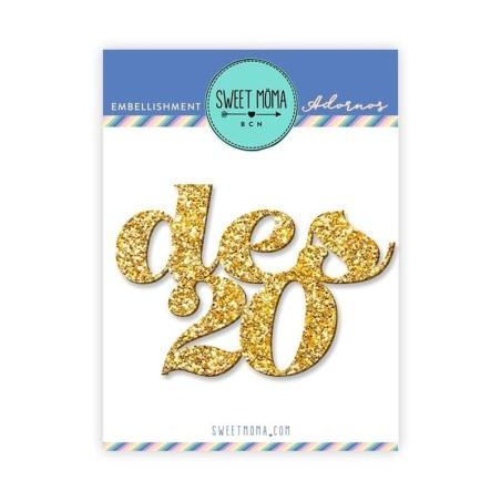 Metacrilato glitter Des20 - Sweet Moma