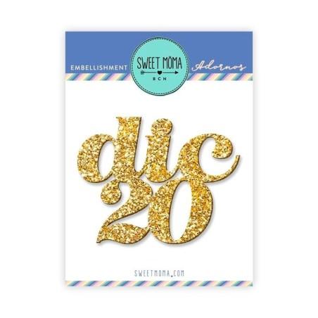 Metacrilato glitter Dic20 - Sweet Moma