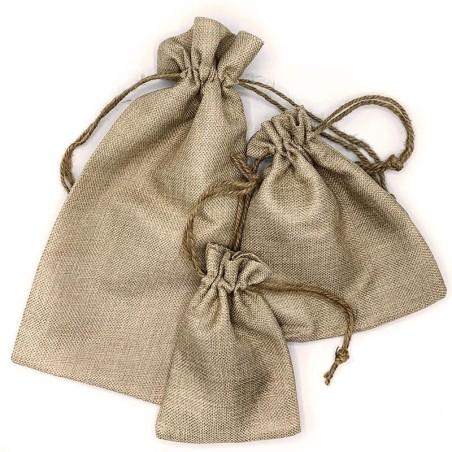 Bolsa tela arpillera