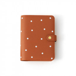 Planner personal A6 Charuca - Canela topos
