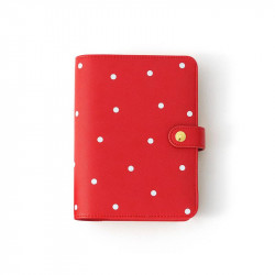 Planner personal A6 Charuca - Red topos