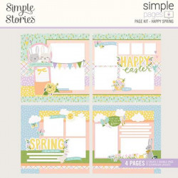 Simple Pages Kit Happy Spring Bunnies + Blooms