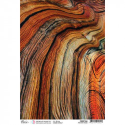 Papel de Arroz A4 Ciao Bella Red Oak Wood
