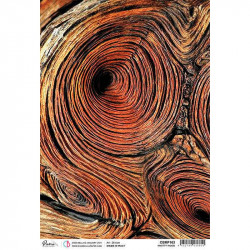 Papel de Arroz A4 Ciao Bella Knotty Wood