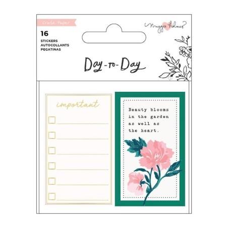 Mini libro de pegatinas Day to Day