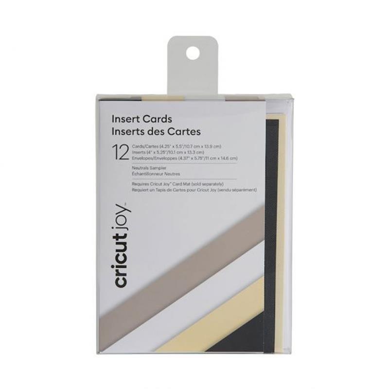 Cricut Joy Insert Cards 12-pack (Neutrals)