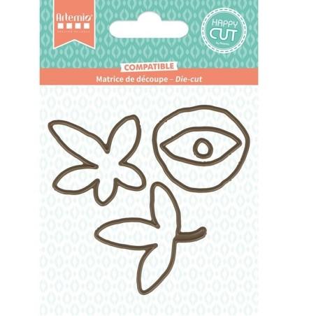 Troquel Flores Slow Life - Artemio