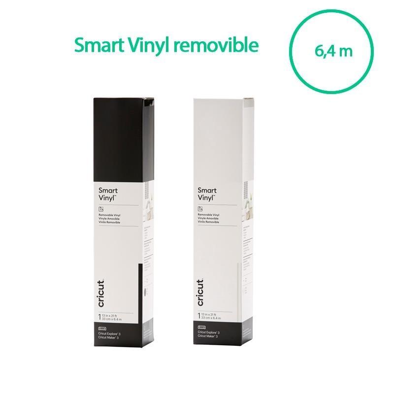 Cricut Smart Vinyl Removable Black 33x640cm