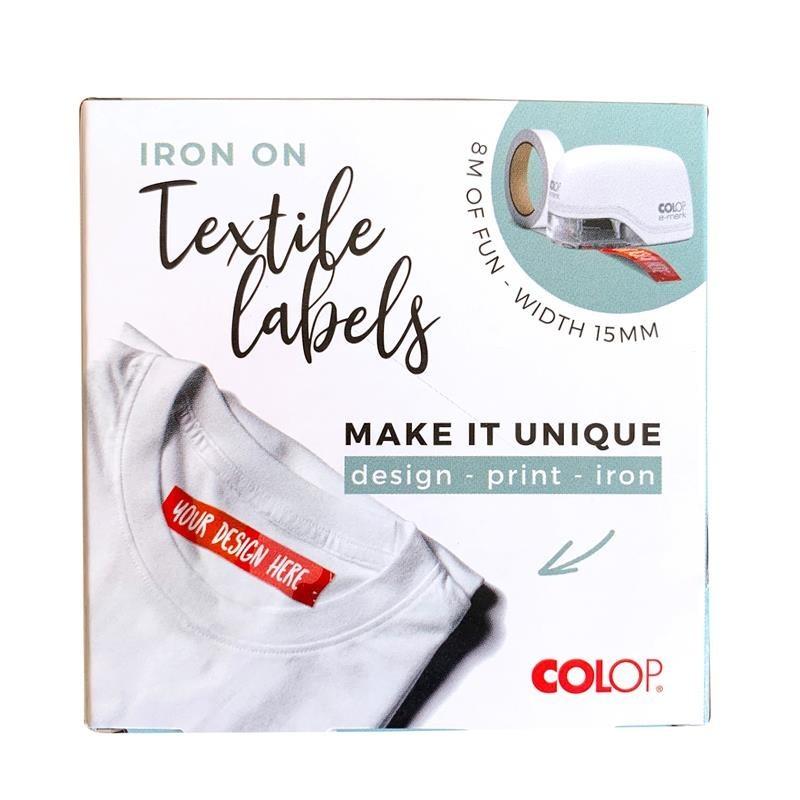 E-mark Cinta textil termo adh. 15mm x 8m