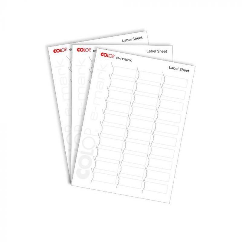E-mark Etiquetas 10 hojas A4