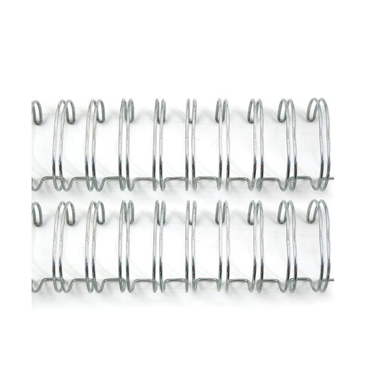 """Espirales para encuadernar 1"""" Plateada Cinch (2ud)"""