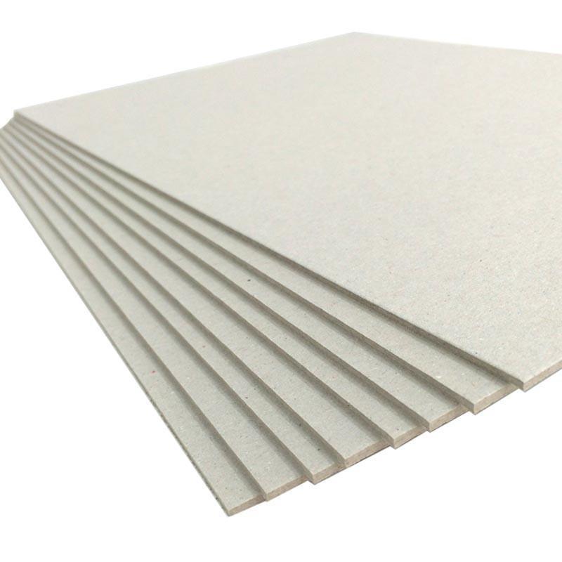 """Cartón contracolado gris premium 2mm 12"""""""