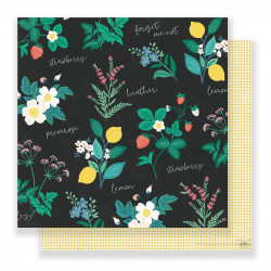 "Papel doble cara 12 "" Flourish - Greenhouse"