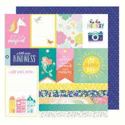 "Papel doble cara 12 "" Stay Colorful - Jive talkin"
