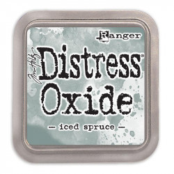 Tinta Distress Oxide Iced spruce Tim Holtz