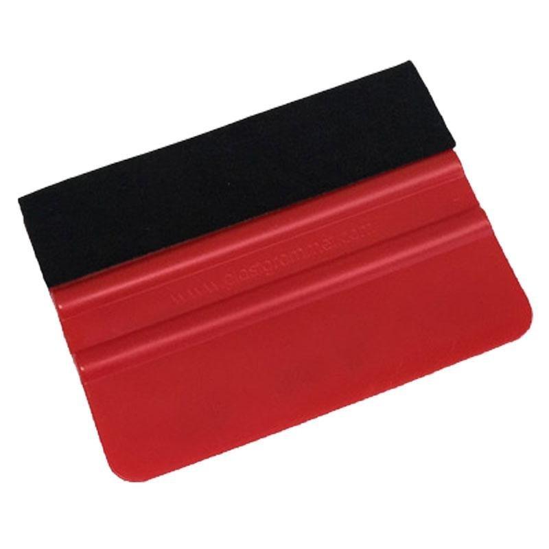 Espátula 10 cm. Rojo con Fieltro