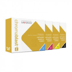 Cartuchos Chromablast HD SG400/800 Amarillo