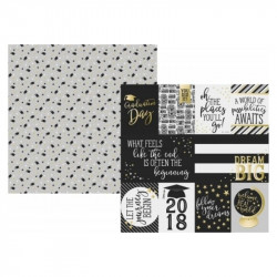"Papel doble cara 12"" Rad Grad- Elements"