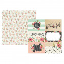 "Papel doble cara 12"" Bloom - Elements"