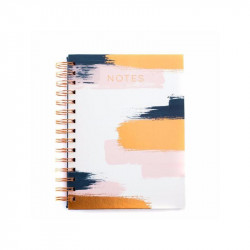 Spiral Notebook Brushed Copper