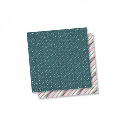 "Papel doble cara 12"" Freezin Season - Shiverin"