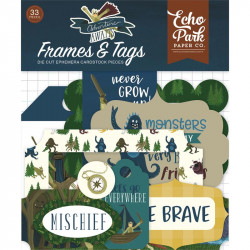 Echo Paper-Adventure Awaits - Frame & tags