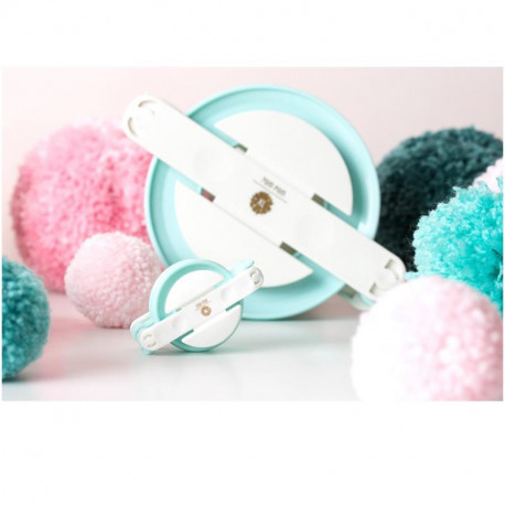 Jumbo Pom Pom Maker We R Memory Keeper