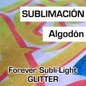 Subli-Light Glitter no cut A4 -paquete 10 hojas-