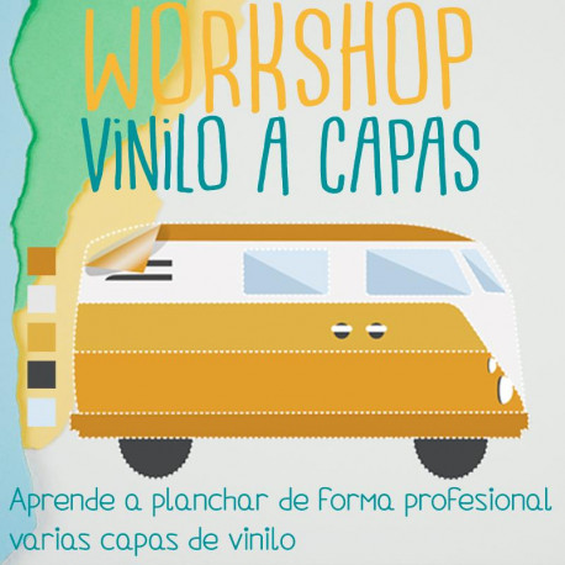 Workshop/curso vinilo textil a capas