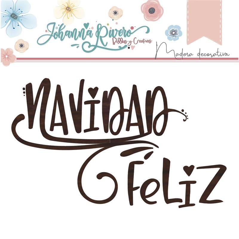 Madera Johanna Rivero - Navidad Feliz