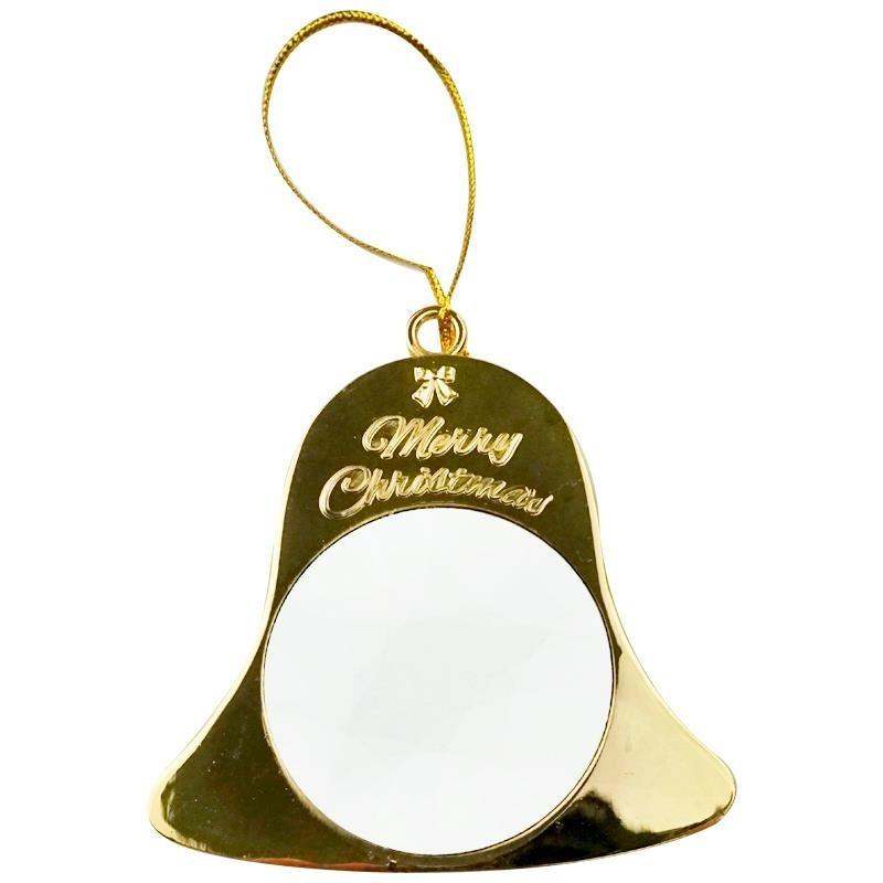 Campana navidad oro sublimacion