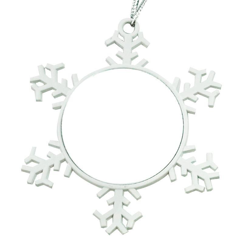 Estrella navidad blanca sublimacion