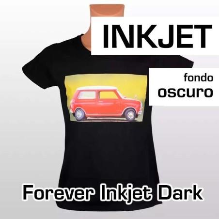 Papel transfer Forever inkjet dark