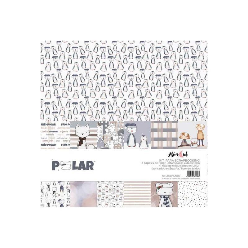 Kit de papeles Polar Alúa Cid