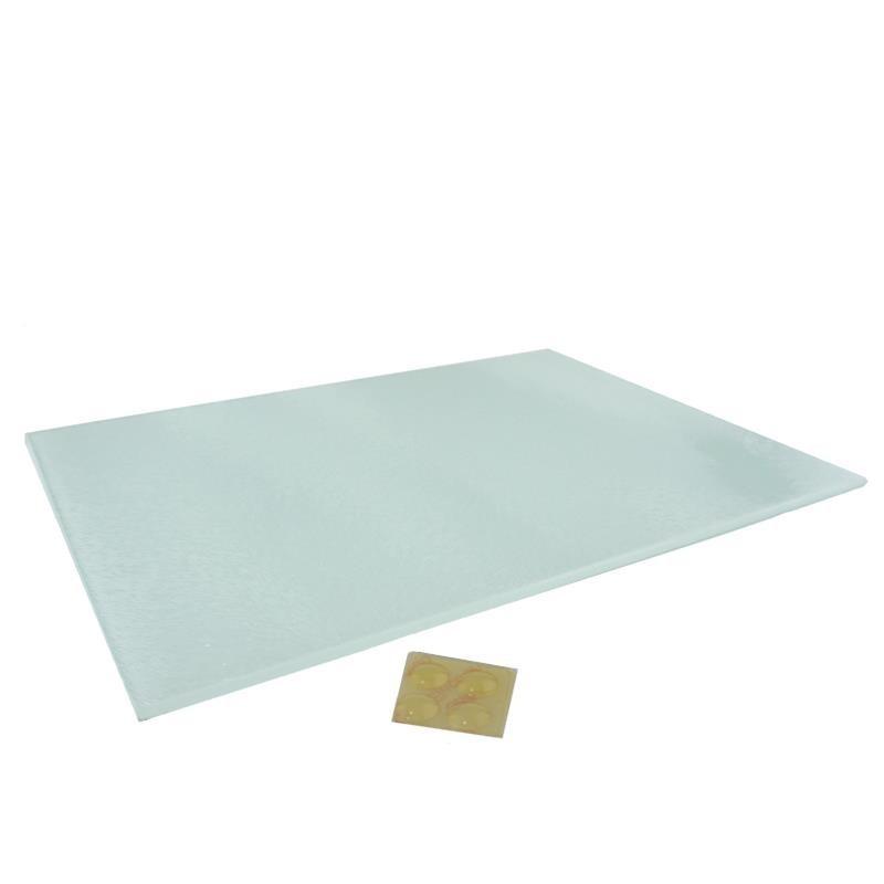 Tabla de cortar cristal 20X28 cm sublimable