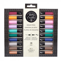 Rotuladores Kelly Creates Dream Pen-Meadow 10 pz
