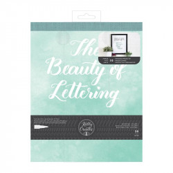 Practices pad Kelly Creates Beauty of Lettering