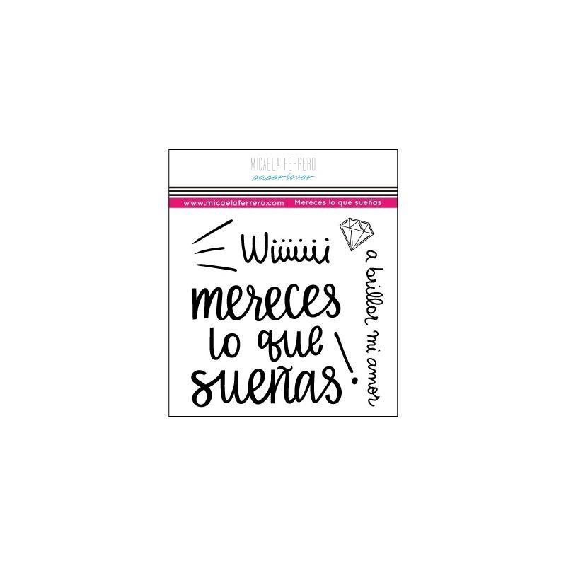Micaela Ferrero-Sello 10*10 Mereces lo que sueñas