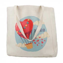 Shopping bag de lino 48X38
