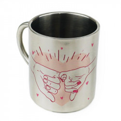 Taza de metal sublimable 300ml