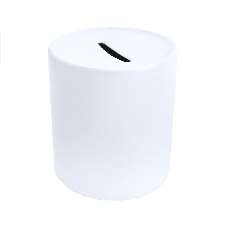 Hucha Ceramica Blanca