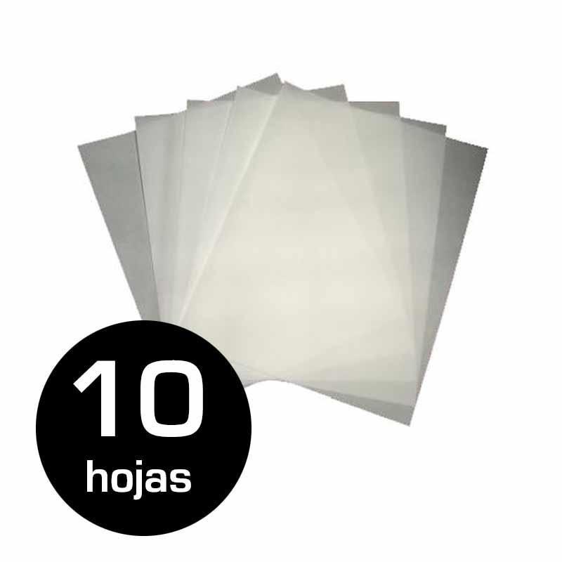 Papel protector siliconado 50g 40x60 10 hojas