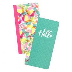 Journal Studio- Insertos 2pz Hello