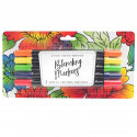 American Crafts Blending Markers 5pz Primary