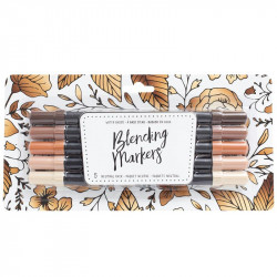 American Crafts Blending Markers 5pz Neutrals