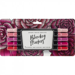 American Crafts Blending Markers 5pz Reds