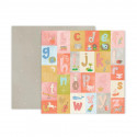 Papel doble cara Pink Paislee Little adventurer -4