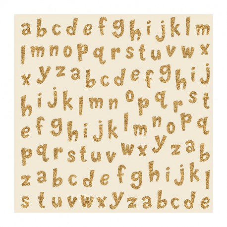 Papel especial Little adventurer alphabet