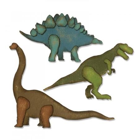 Troquel Sizzix Thinlits Prehistoric by Tim Holtz