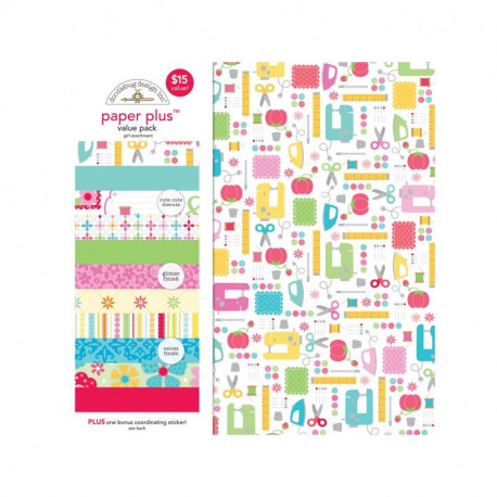 Paper plus pack Girl by Doodlebug